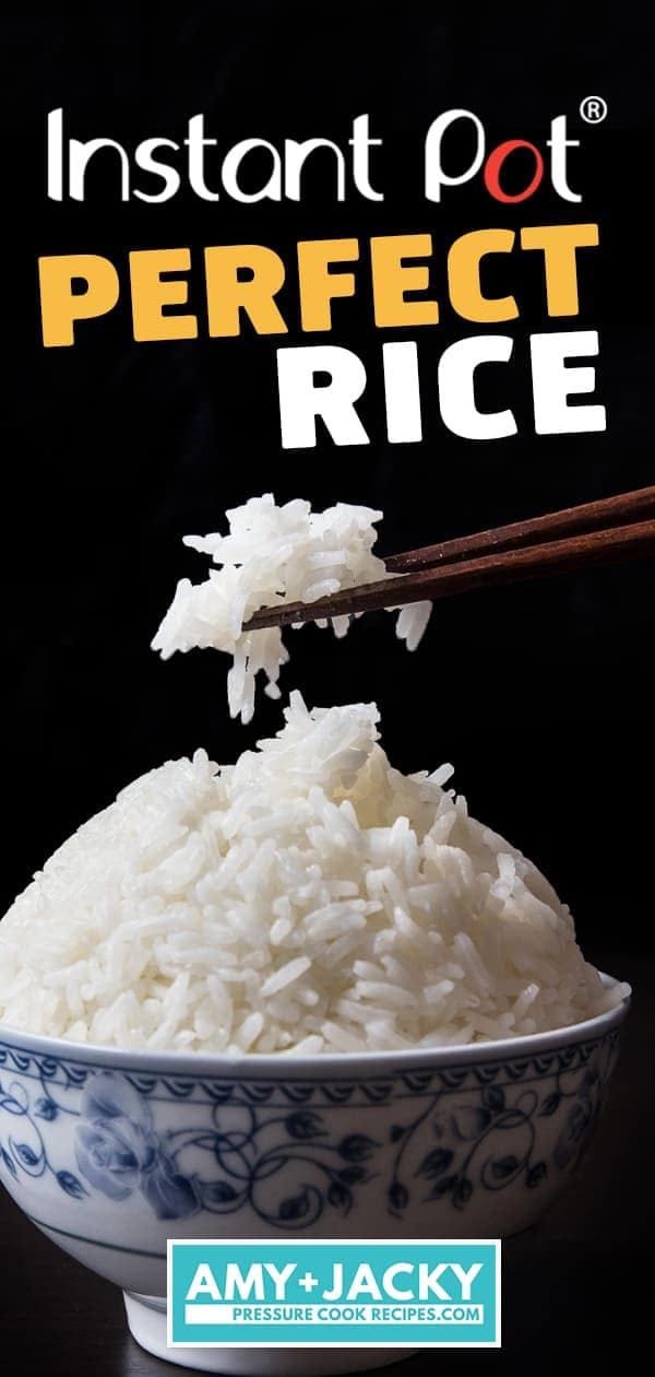 Instant Pot Rice (Pressure Cooker Rice): Failproof method to make Instant Pot White Rice or Instant Pot Jasmine Rice #instantpot #pressurecooker #rice #recipe