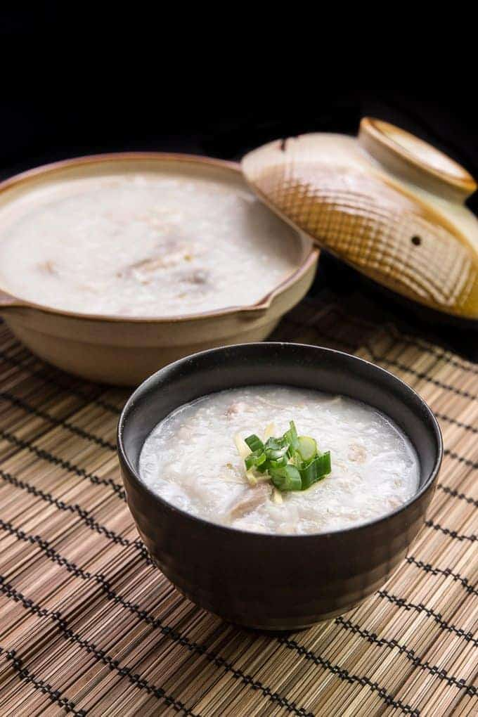 Instant Pot Chicken Congee (Rice Porridge or Jook) in ...