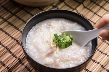 6 simple ingredients + 6 easy steps to make this Chicken Congee in the Pressure Cooker. Easy one pot meal that is frugal and comforting.