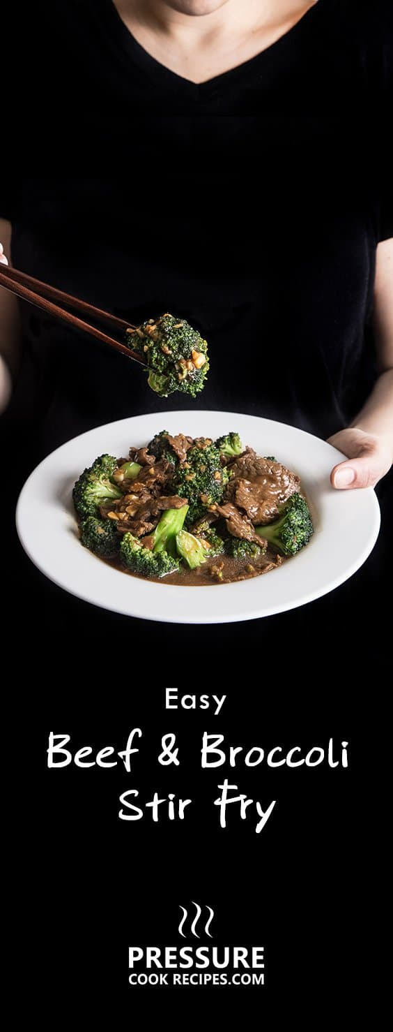 Make this flavorful Chinese Easy Beef and Broccoli Stir Fry recipe in 25 mins! Tender beef & crunchy broccoli soaked in delicious garlicky ginger sauce.