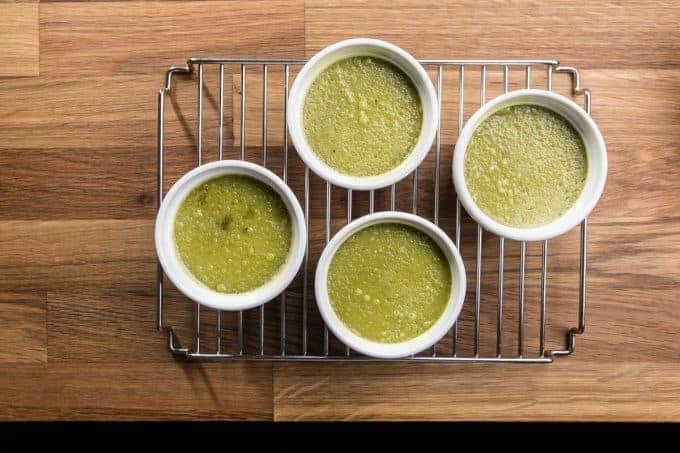 Easy Green Tea Coconut Creme Brulee Recipe
