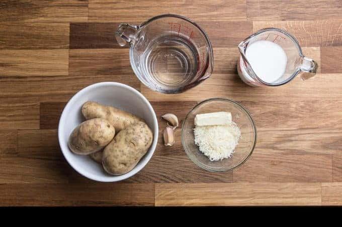 pressure cooker mashed potatoes ingredients