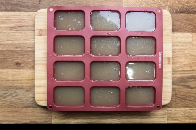 How to Make Pressure Cooker Chicken Stock Freezer Silicone Mold