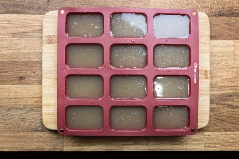 How to Make Instant Pot Bone Broth Freezer Silicone Mold