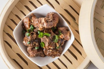 5 mins prep to make this popular dim sum pressure cooker spare ribs with black bean sauce. Tender, moist, and juicy pork spare ribs is perfect over rice.