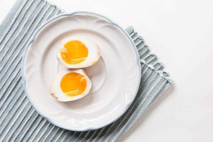 Ramen Egg (Japanese Soft Boiled Egg) Recipe