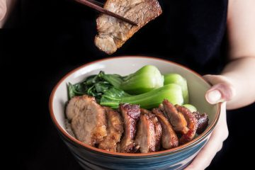 Make this moist & super tender Char Siu Chinese BBQ Pork with the pressure cooker at home. The sweet & savory flavors will make you scream for more!
