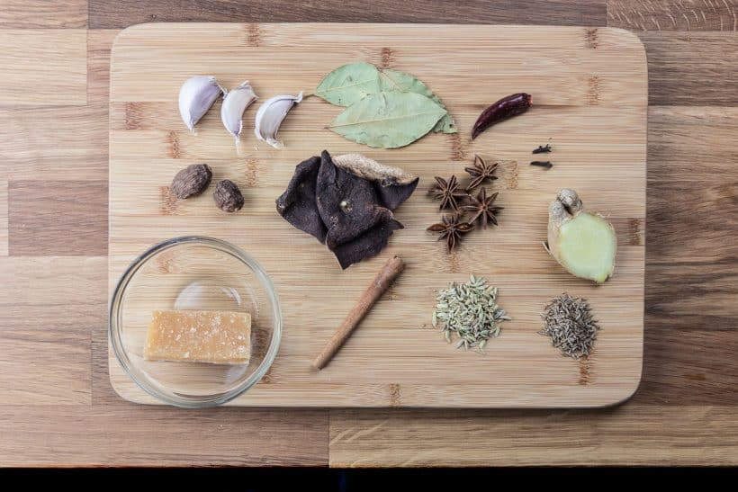 Chinese Master Stock Recipe Ingredients 滷水汁