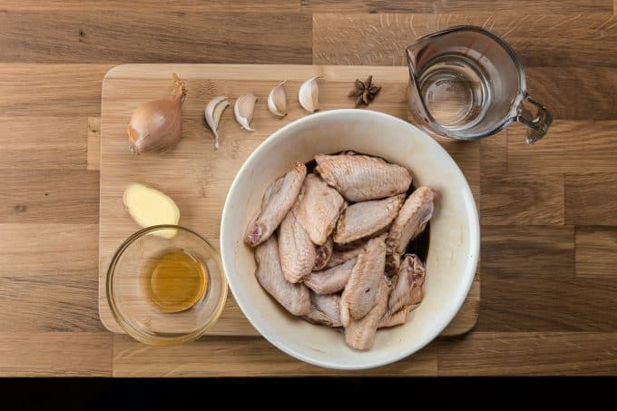 Honey Soy Chicken Wings Recipe Ingredients