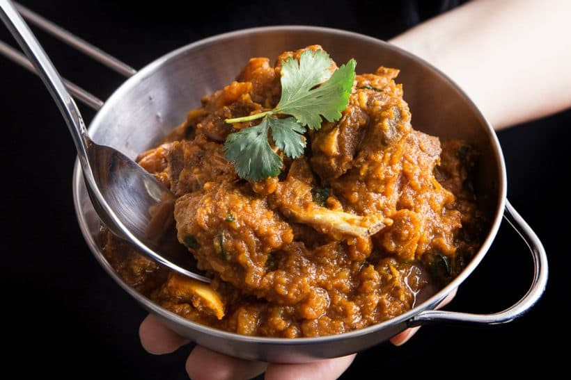 Instant Pot Indian Goat Curry