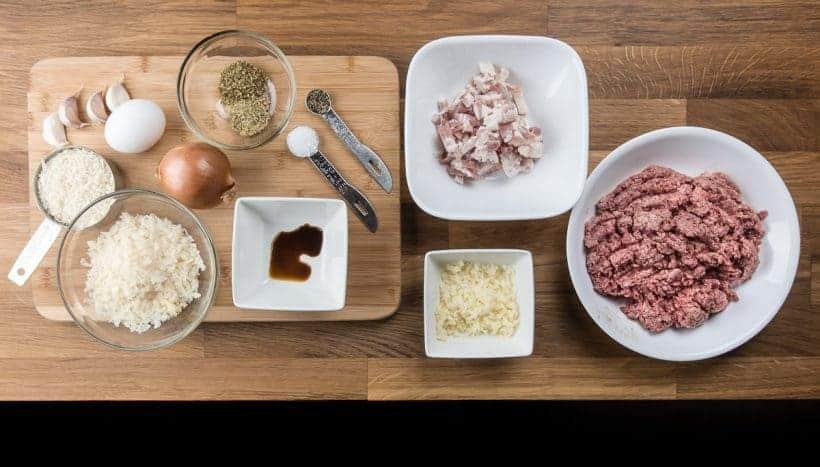 Instant Pot Meatballs Recipe (Pressure Cooker Meatballs) Ingredients