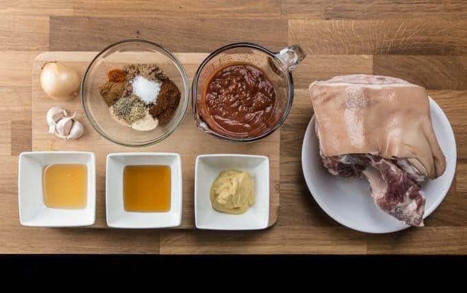 Pressure Cooker Pulled Pork Recipe Ingredients
