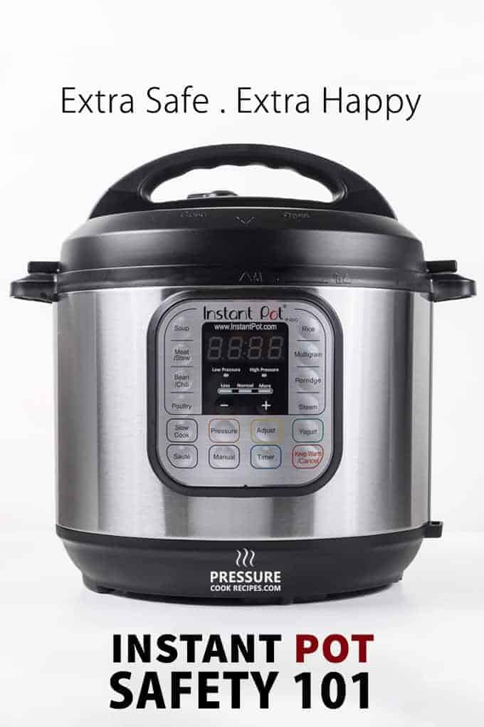 Instant pot pressure cooker safety cook recipes