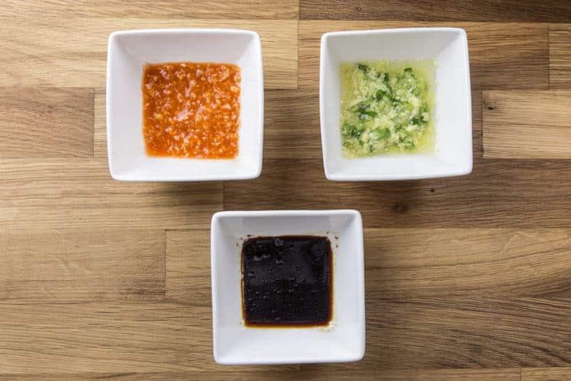 Hainanese Chicken Sauce | Chilli Sauce | Soy Sauce Recipe | Ginger Sauce #AmyJacky #InstantPot #PressureCooker #recipe #asian #chinese #chicken #rice