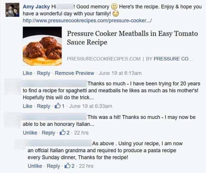 Amy Jacky | Pressure Cook Recipes