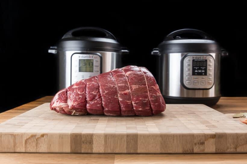 instant pot chuck roast experiment    #AmyJacky #InstantPot #PressureCooker #beef