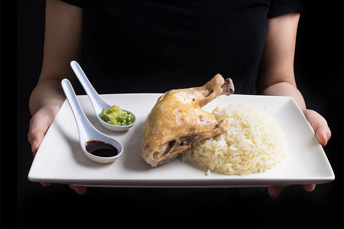 Instant Pot Hainanese Chicken Rice