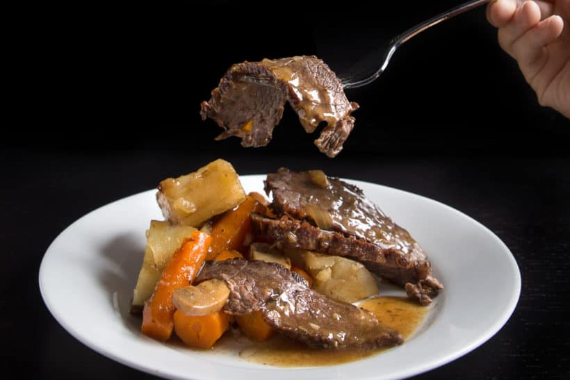Make Umami Instant Pot Pot Roast Recipe (Pressure Cooker Pot Roast) in less than 2 hrs. Your family will love the tender, juicy beef soaked in a deliciously rich umami gravy!