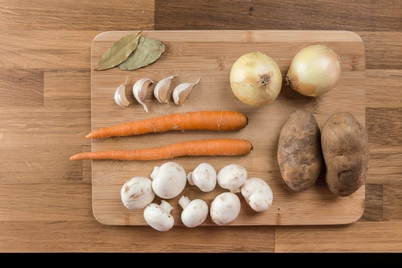 Pressure Cooker Pot Roast Recipe Ingredients