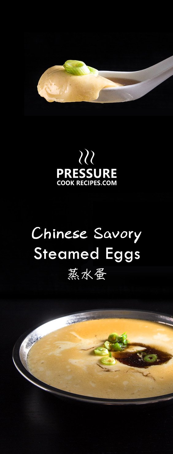 Make this super EASY 5-ingredient Chinese Steamed Eggs (Savory Egg Custard 蒸水蛋) Recipe in 20 mins. Silky smooth eggs literally melts in your mouth.