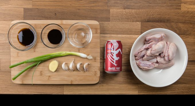Easy cola chicken wing recipe