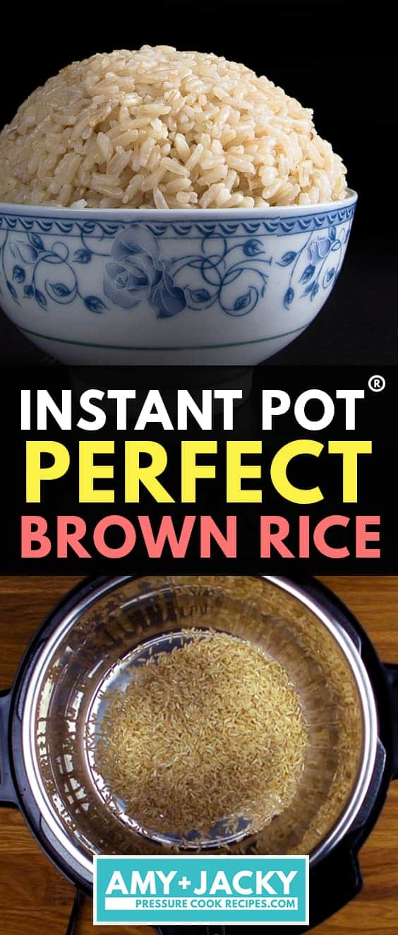 instant pot brown rice | brown rice instant pot | brown rice in instant pot | how to cook brown rice in instant pot | instapot brown rice | brown rice pressure cooker | pressure cooker brown rice  #AmyJacky #InstantPot #PressureCooker #vegan #vegetarian #rice #sides