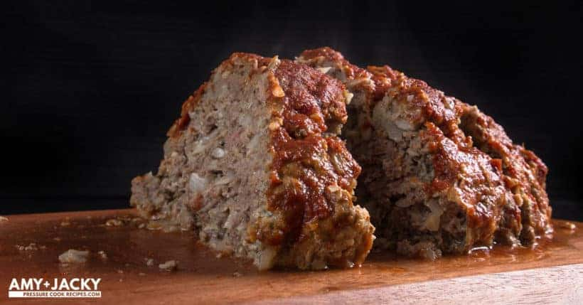 Instant Pot Meatloaf | Pressure Cooker Meatloaf | Instant Pot Meatball | Instant Pot Ground Beef | Instant Pot Hamburger | Instant Pot Recipes | Pressure Cooker Recipes #instantpot #pressurecooker #recipes #easy #dinner