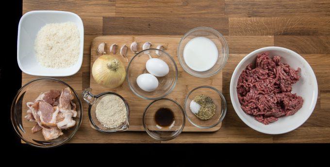 Juicy Pressure Cooker Meatloaf Recipe Ingredients