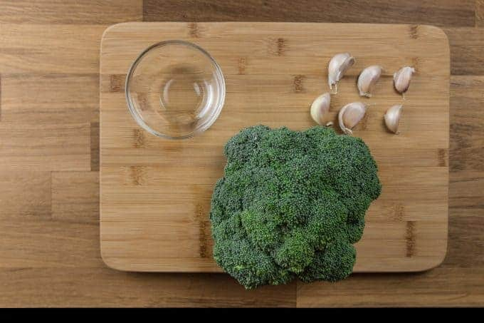 Pressure Cooker Broccoli with Garlic Recipe Ingredients