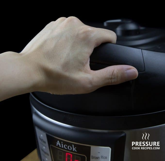 Aicok 7-in-1 Multi-Functional Programmable Electric Pressure Cooker Lid Handle