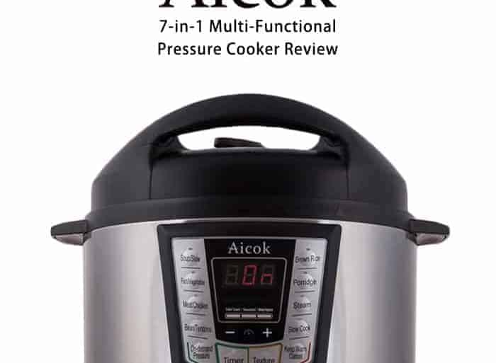 Aicok 7-in-1 Multi-Functional Programmable Electric Pressure Cooker Product Review