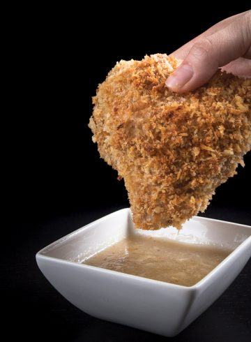 Make this Crispy Pressure Cooker Chicken with Easy Homemade Chicken Gravy Recipe. Imagine a bite of tender & juicy chicken coated with crispy & buttery breading, dipped into rich & flavorful chicken gravy made from scratch. You'll love this delicious shortcut to make oven-fried chicken!