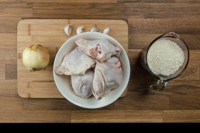 Crispy Pressure Cooker Chicken with Easy Homemade Chicken Gravy Recipe Ingredients