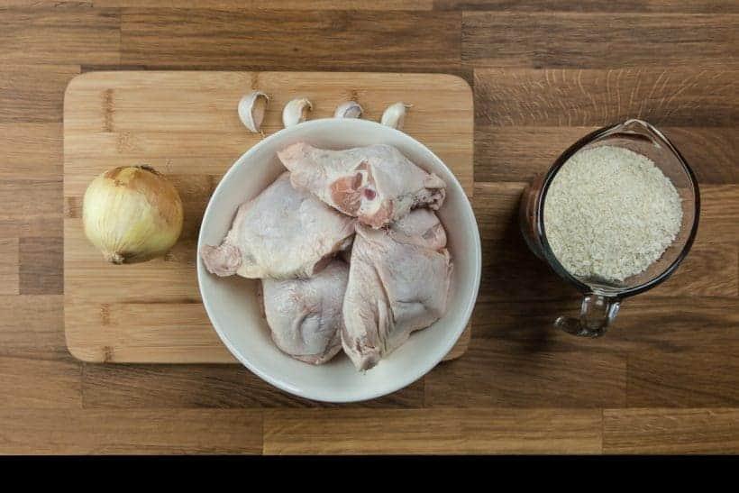 Crispy Pressure Cooker Chicken with Easy Homemade Chicken Gravy Recipe Ingredients