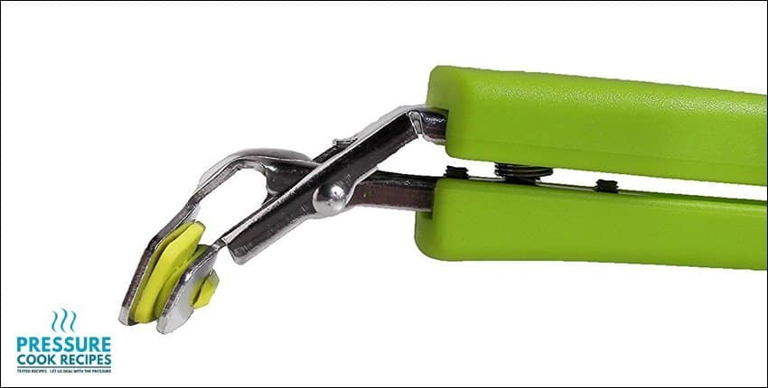 TOPOKO Green Stainless Steel Retriever Tongs/Gripper Clip for Hot and Cold Plate, Bowl, Dish,...