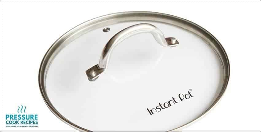Genuine Instant Pot Tempered Glass Lid, 9 in. (23 cm), 6 Quart, Clear