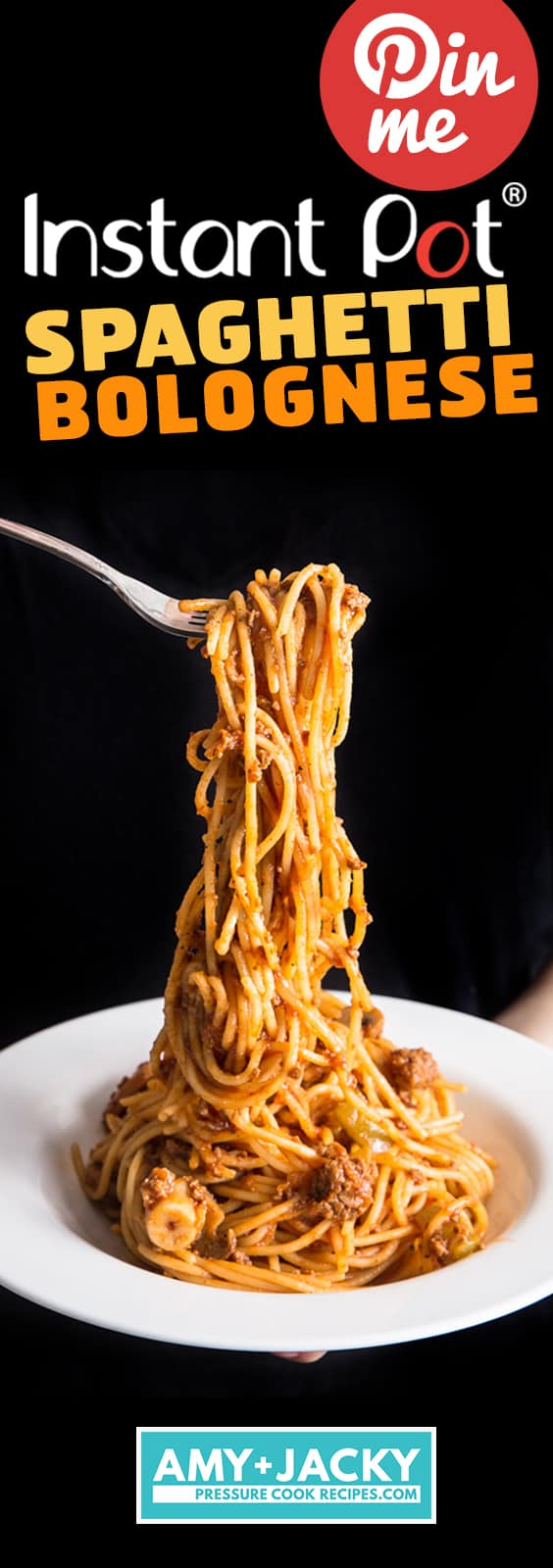 Instant Pot Spaghetti | Instant Pot Spaghetti Bolognese | Pressure Cooker Spaghetti | Pressure Cooker Spaghetti Bolognese | Instant Pot Pasta | Instant Pot Ground Beef | Instant Pot Recipes | One Pot Meals | Meat Sauce #instantpot #pressurecooker #recipes #easydinner #dinner