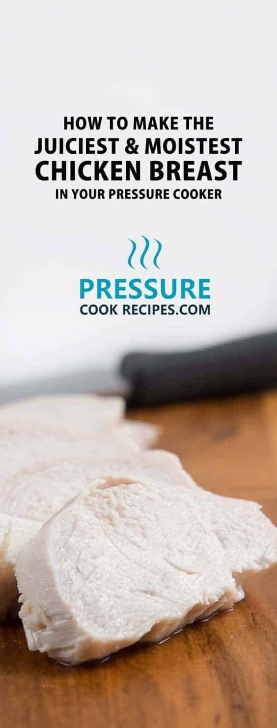 How To Make The Juiciest & Moistest Chicken Breast In Pressure Cooker? We  Tested Batches
