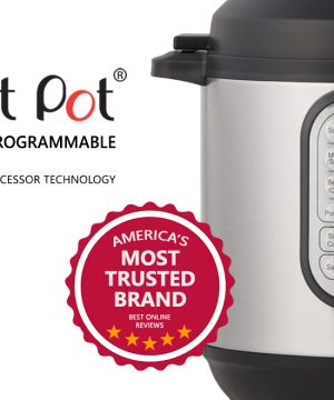 If you want to cook faster, healthier & easier, buying Instant Pot Electric Pressure Cooker may change your life!