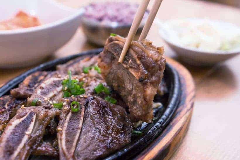 LA Galbi (Korean BBQ Beef Short Ribs)