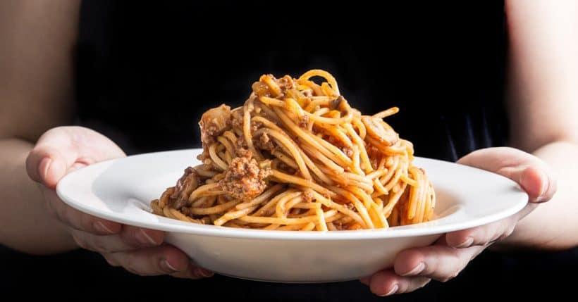 One Pot Pressure Cooker Spaghetti Bolognese