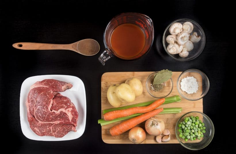 Instant Pot Beef Stew Recipe Ingredients