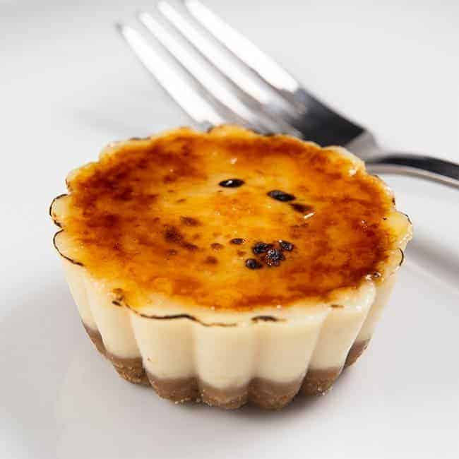Instant Pot Homemade Food Gifts (Christmas Edible Gifts): Instant Pot Creme Brulee Cheesecake Bites