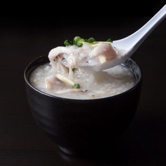 Easy Instant Pot Recipes: Instant Pot Chicken Congee