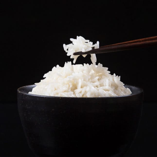 Easy Instant Pot Coconut Rice Recipe with sweet aroma & creamy flavors. Perfect pressure cooker side dish to spicy, bold Asian food.