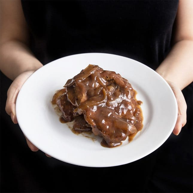 Easy Instant Pot Recipes: Instant Pot Pork Chops in HK Onion Sauce