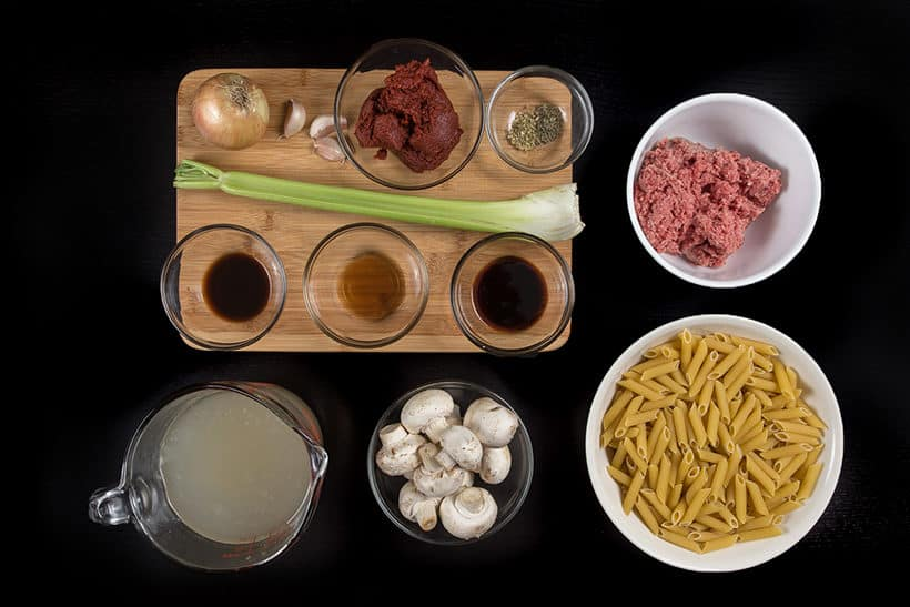 instant pot pasta ingredients   #AmyJacky #InstantPot #PressureCooker #recipe #pasta #easy #healthy