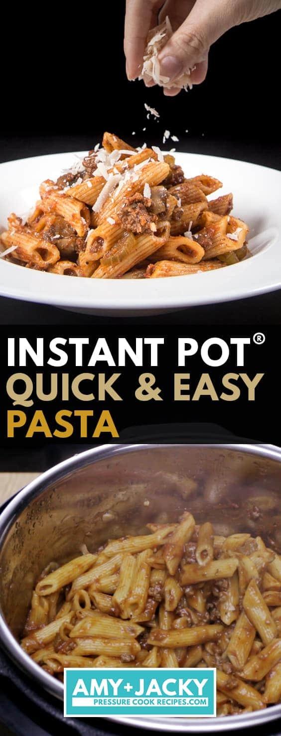 instant pot pasta | instant pot penne pasta | one pot pasta | instant pot pasta recipes | pasta in instant pot | cooking pasta in instant pot | pressure cooker pasta #AmyJacky #InstantPot #PressureCooker #recipe #pasta #easy #healthy