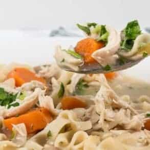 Instant Pot Chicken Noodle Soup | Pressure Cooker Chicken Noodle Soup | Instant Pot Chicken Soup | Pressure Cooker Chicken Soup