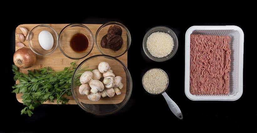 Pressure Cooker Turkey Meatballs with Homemade Mushroom Gravy Recipe: Crowd-pleasing juicy meatballs in fragrant umami gravy. Great for thanksgiving holidays!